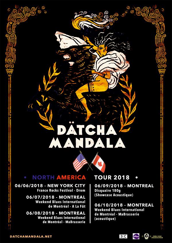 affiche DATCHA MANDALA 2018